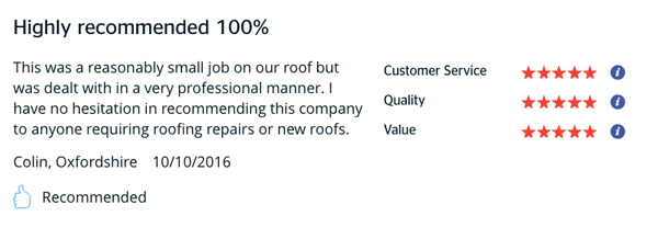Roofing Review Oxfordshire